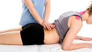 Performing Manual Therapy at Toronto Physiotherapy Clinic